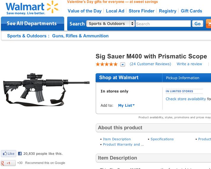 Walmart Gun Image 2